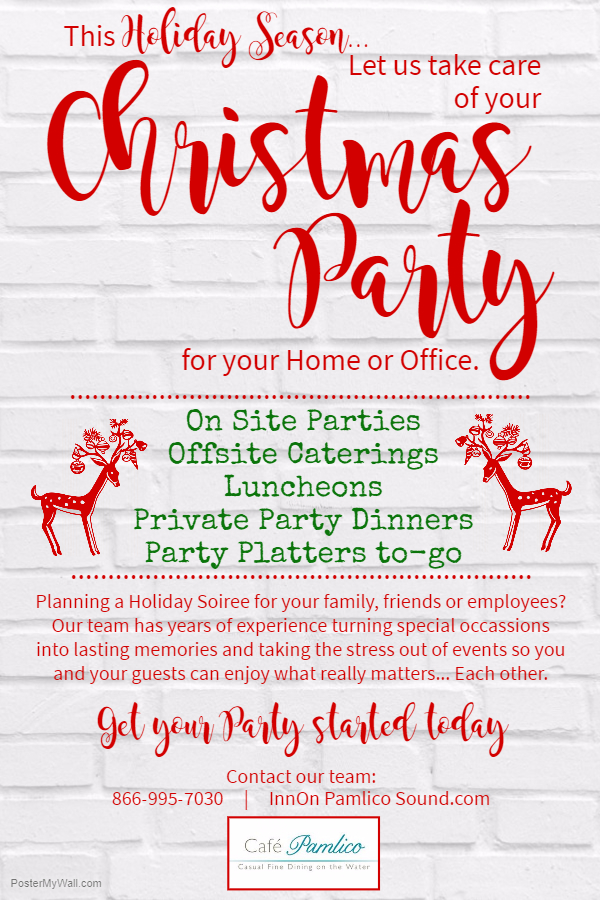 Holiday Party Flyer 2017 - The Inn On Pamlico Sound